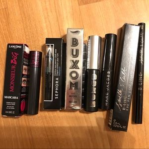 High end mascara and eyeliner lot of five